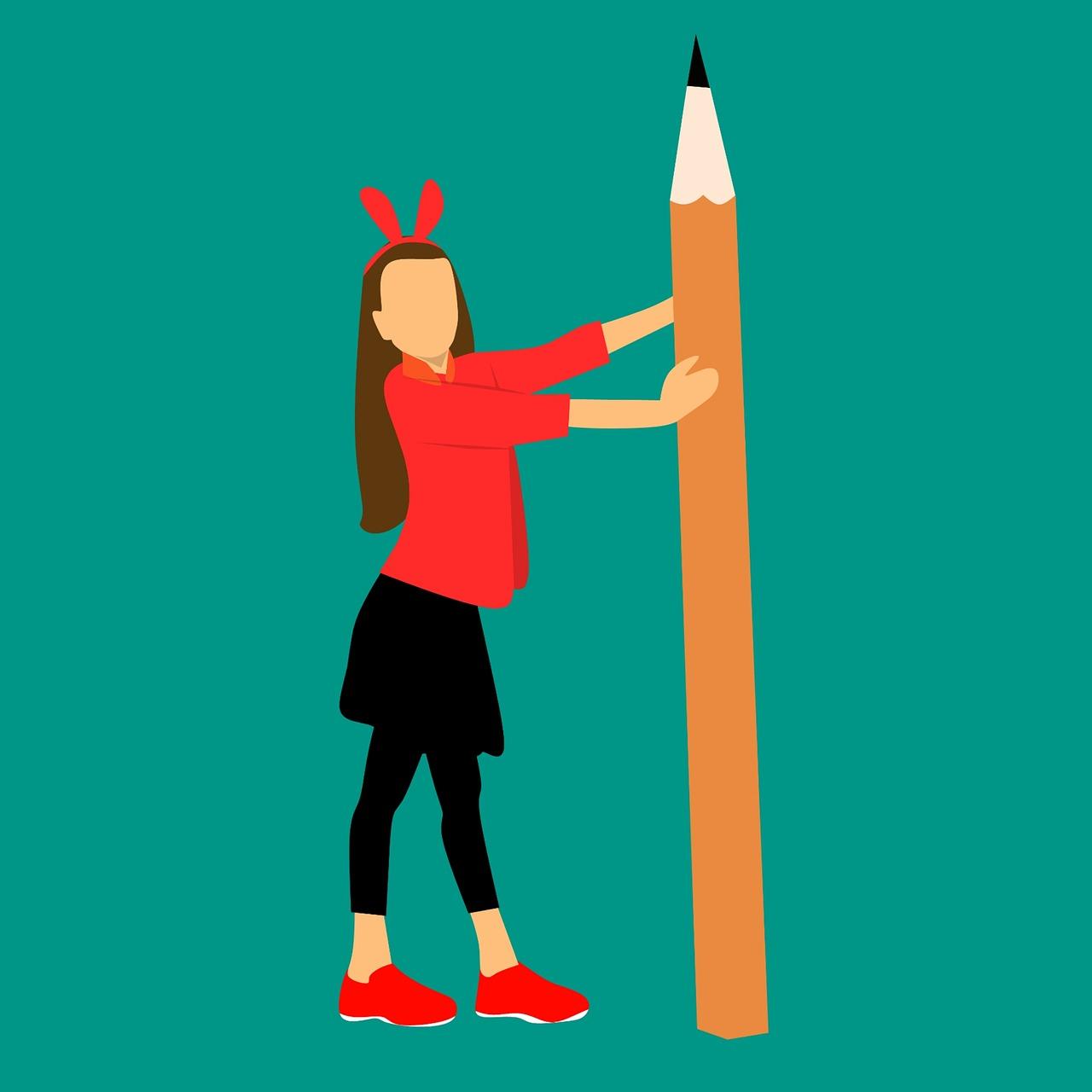 עיפרון וילדה