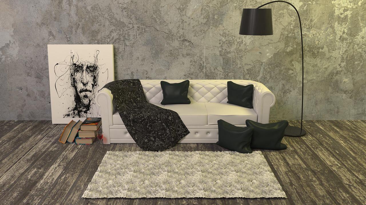 ספה ושטיח וריפוד